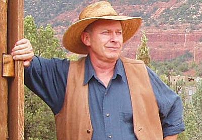 """<br /><br /><!-- 1upcrlf2 -->Free cowboy poetry show with Mike Peach<br /><br /><!-- 1upcrlf2 -->July 26<br /><br /><!-- 1upcrlf2 -->The Sedona Heritage Museum presents Michael Peach in two special performances of his original show, """"The Facts Keep Gettin' in the Way of the Story"""" on Saturday at 1:30 p.m. and again at 3:30 p.m. These free shows are part of Sedona's celebration of National Day of the Cowboy and will be held in Jordan Hall at Wayside Chapel, 401 N. 89A, in Uptown. Peach's show features his unique blend of original cowboy poetry with a tongue-in-cheek look at the history of cowboying and the greater Sedona area.<br /><br /><!-- 1upcrlf2 -->Call (928) 282&#8209;7038 or visit www.sedonamuseum.org.<br /><br /><!-- 1upcrlf2 --><br /><br /><!-- 1upcrlf2 --><br /><br /><!-- 1upcrlf2 --><br /><br /><!-- 1upcrlf2 -->"""