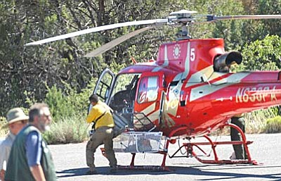The Yavapai County Sheriff's Office worked with the DPS Ranger on the removal of the crash victims. Due to the rough terrain, the victims were airlifted to a safe zone pending ground transportation to the Medical Examiner's Office. VVN/Vyto Starinskas