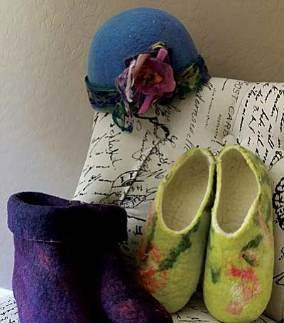 Fiber Arts Workshop with Debra Baker will take place Tuesday, Aug. 12 at Sedona Winds.