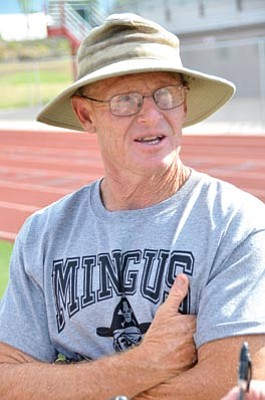 Head football coach Bob Young has been at Mingus for almost 30 years. VVN/Vyto Starinskas