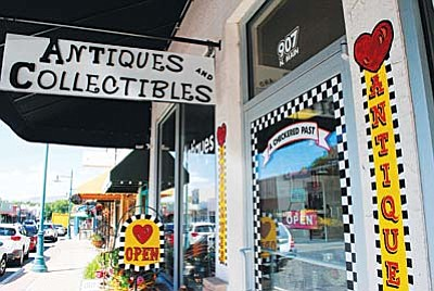 A Checkered Past Antiques has been in Old Town Cottonwood since 2009. VVN/Yvonne Gonzalez