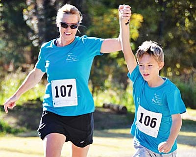 This year's annual Fit Kids 5K race will take place Nov. 1 at Cottonwood's Riverfront Park.