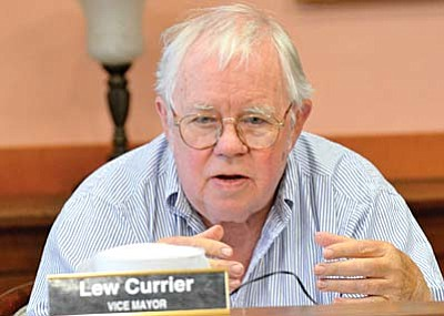 As of noon Wednesday, Lew Currier was the top vote-getter in the Jerome municipal primary. VVN/Vyto Starinskas