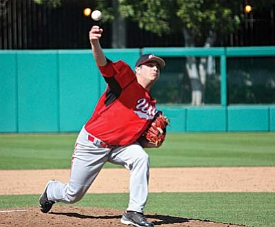 "Tony Vocca played college baseball for the University of Utah in 2012. Photo courtesy of ""Shotgun Spratling/College Baseball Daily."""