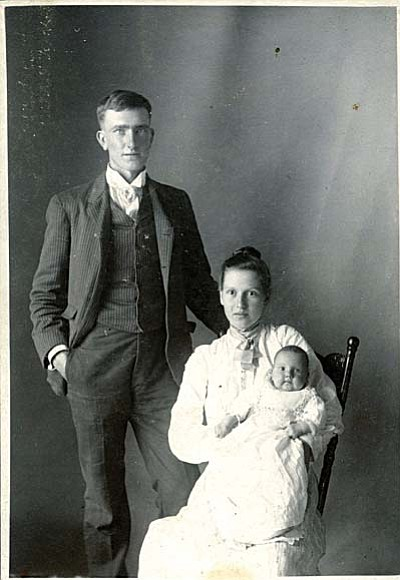 Albert and Clara Purtymun Photo: Sedona Historical Society