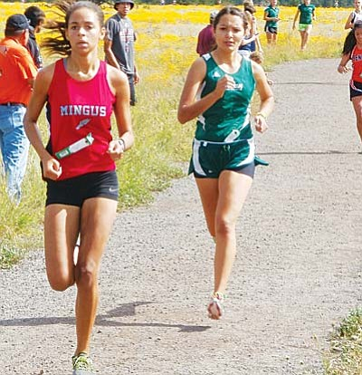 Sophomore Brianna Epperson scored for the first time for the Marauders with a fine 24:48 in 29th place. VVN/Dan Engler