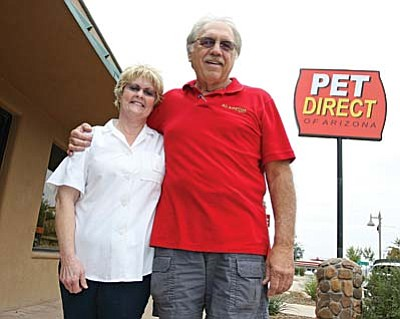 On Oct. 2, Suzan and Paul Baker opened Pet Direct in downtown Camp Verde. VVN/Bill Helm