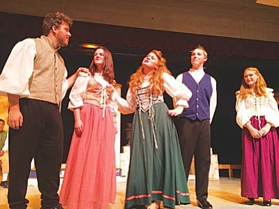 Mingus Union's production of Much Ado About Nothing debuts Nov. 1. Tickets: $8 adult, $7 seniors, $6 students and children at www.showtix4u.com. VVN/Dan Engler