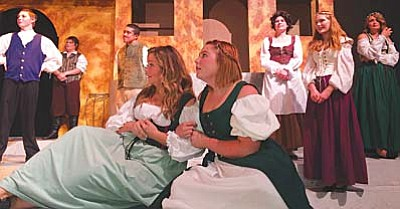 Mingus Union High School's production of Much Ado About Nothing the best high school show in the state. VVN/Dan Engler