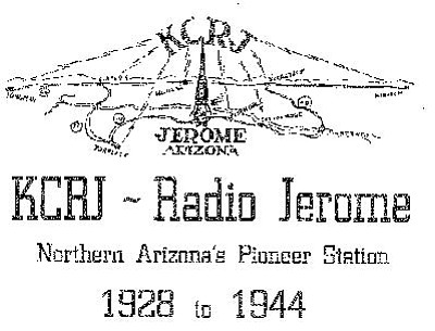 """The letter 'K' indicted a station that was west of the Mississippi River; the letters CR stood for Charles Robinson, KCRJ's owner; and the """"J"""" either stood for Jerome or jeweler. (Robinson was also a jeweler and his store was located in the old Arizona Discoveries building on Jerome's Main Street.) Courtesty collection of Richard Martin"""
