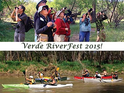 Verde River Fest 2015 features the third annual Verde River Run Off and the 15th annual Verde Valley Birding and Nature Festival
