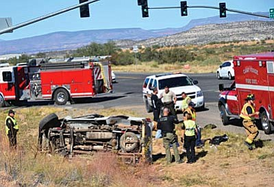 The Camp Verde Marshal's Office reports that it handled 39 accidents and four fatalities on SR 260 during 2014. VVN file photo/Vyto Starinskas