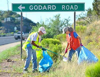 <b>Highway 260 Clean-Up</b><br /><br /><!-- 1upcrlf2 -->Feb. 21