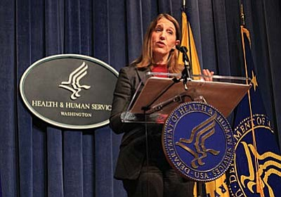 Health and Human Services Secretary Sylvia Burwell in February announced 2015 enrollment for Obamacare, which topped 11.4 million nationally and 204,000 in Arizona. Those numbers were up from last year, but could take a hit in the latest Supreme Court challenge to the law. (Cronkite News photo by Jessica Boehm)