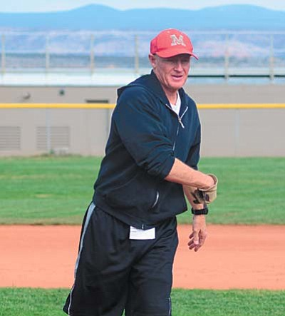 Mingus head baseball and football coach Bob Young said he feels that his teams have been placed correctly in the new AIA alignment. VVN/Derek Evans