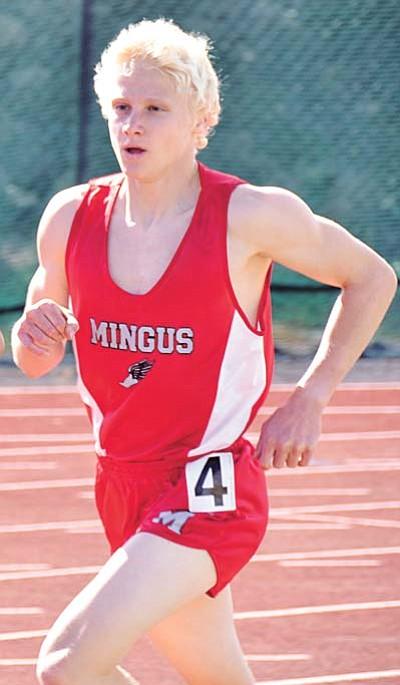 Mingus senior Jordan Bramblett won both the 1600- and 3200-meter events during Friday's Chandler Rotary Invitational. VVN/file