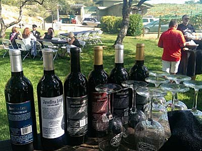 Javelina Leap Winery produces a variety of wines used for events on site. (Courtesy of Javelina Leap Winery)