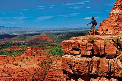 Sedona Hike House offers an interactive service that allows hikers to better select  a trail that they want. Sedona Hike House  says there are probably over 200 trails in the Sedona area and many people never see the best parts. Photos courtesy of Greg Stevenson.