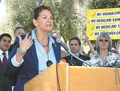 State Sen. Kelli Ward. (Capitol Media Services file photo by Howard Fischer)
