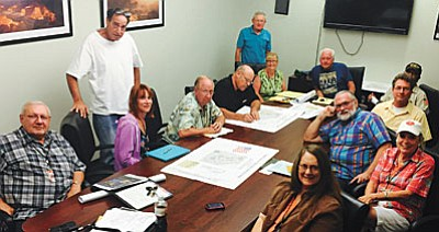 The planning committee for the Verde Valley Military Service Park is made up of volunteers from the Verde Valley Detachment of the Marine Corps League 1176, VFW Post 7400, American Legion Posts 25, 93, and 135 and the City of Cottonwood. Other members include Dave Blauert of Sedona who was instrumental in the creation of military service parks in Durango, Colorado and Sedona. City of Cottonwood's Community Services General Manager Richard Faust has also been a great support for the project.