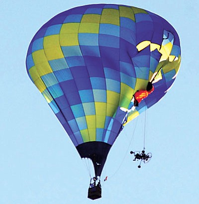 Tuesday, the Arizona Court of Appeals upheld the trial court decision in Yavapai County, clearing the city of negligence in the 2010 mid-air crash of a powered paraglider and a hot air balloon. VVN file photo by Jon Pelletier