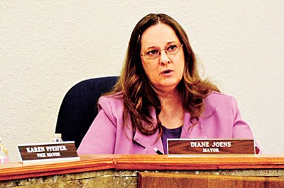Cottonwood Mayor Diane Jones will attempt to succeed Chip Davis as the Yavapai County Supervisor for District 3. VVN photo