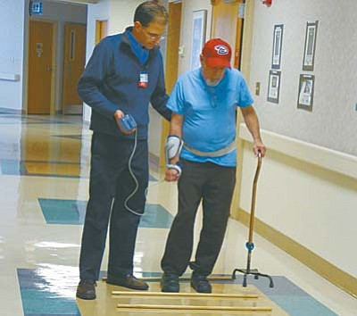 EntireCare's six-day Stroke Boot Camp is held four times a year at Verde Valley Medical Center in Cottonwood and involves tasks intense enough for neuroplasticity, or change in the brain's pathways. Patients work to restore function, decrease fall risk and improve quality of life.