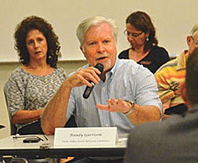 Cottonwood City Council Member Randy Garrison joins Mayor Diane Joens in the race to see who will succeed Chip Davis as District 3 Yavapai County supervisor. (VVN/Jon Hutchinson)