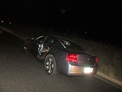 The driver of this car, a 30-year-old Cottonwood woman, was transported to VVMC.