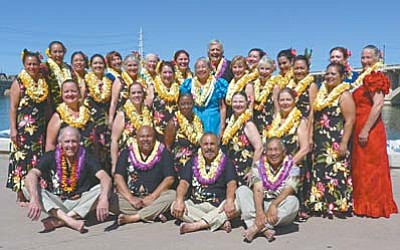 <b>Halau Hula Napuaokalei`ilima in Camp Verde</b><br /><br /><!-- 1upcrlf2 -->Nov. 7