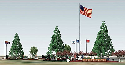 The Verde Valley Military Service Park will serve as a lasting remembrance to the men and women who served our country. It will be constructed in phases as contributions become available.