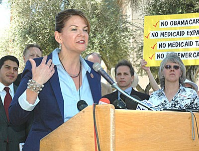 Kelli Ward (Capitol Media Services file photo by Howard Fischer)