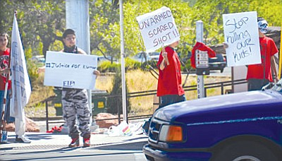 The teen's death by a Yavapai County Sheriff's Office deputy prompted numerous protests around Cottonwood earlier this year.