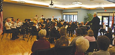 The Cottonwood Community Band, under the direction of Roy Breiling, will perform Sunday, Dec. 20, 3-4 p.m., in the Camp Verde Multi-Use Theater is located at 210 Camp Lincoln Road