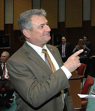 Rep. Sonny Borrelli  (Capitol Media Services file photo by Howard Fischer)
