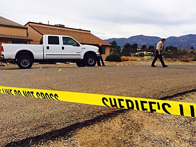 An apparent kidnapping occurred today at 2500 block of Village Drive in Cottonwood.(Photo by Vyto Starinskas)