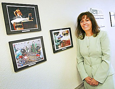 VACTE Interim Superintendent Lisa Aragon (Photo by Bill Helm)