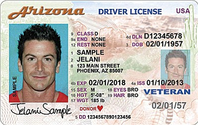 The Arizona Department of Transportation Motor Vehicle Division is rolling out the state's Voluntary Travel ID, a credential meeting federal REAL ID Act security requirements for access to airports, restricted federal buildings, military bases and more. It costs $25 and is good for up to eight years.<br /><br /><!-- 1upcrlf2 -->