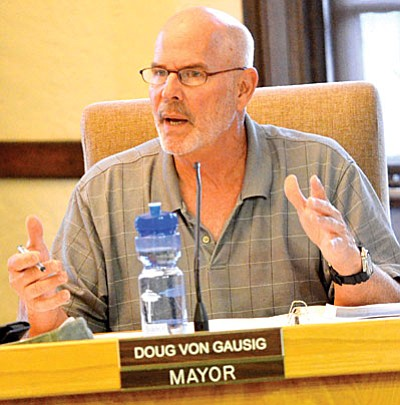 "Clarkdale Mayor Doug Von Gausig: Gov. Ducey "" seems to feel that the State of Arizona is a much better manager of city and town affairs than the cities and towns and the people of those cities and towns."""
