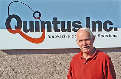 Dick Cook, Chairman of the Board, Quintus, Inc. (Courtesy photo)