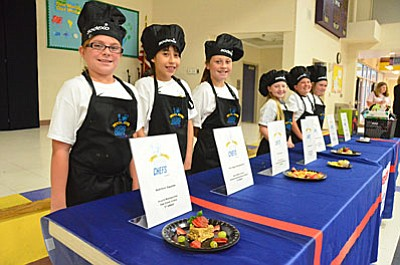 Cottonwood-Oak Creek School District's second Future Chef competition will be held from 2:30 p.m. until 4:30 p.m. Wednesday, April 27 in the cafeteria of Mountain View Preparatory, located at 2939 Del Rio Drive in Cottonwood. (VVN/Vyto Starinskas)