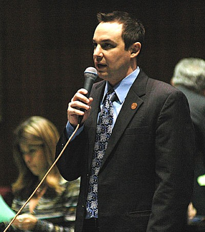 Rep. J.D. Mesard (Capitol Media Services file photo by Howard Fischer)