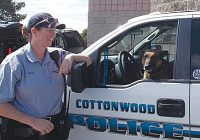 Cottonwood Ordinance Enforcement Officer Autumn Durnez advises that heat stroke is the most preventable injury your dog could suffer. (Courtesy photo)