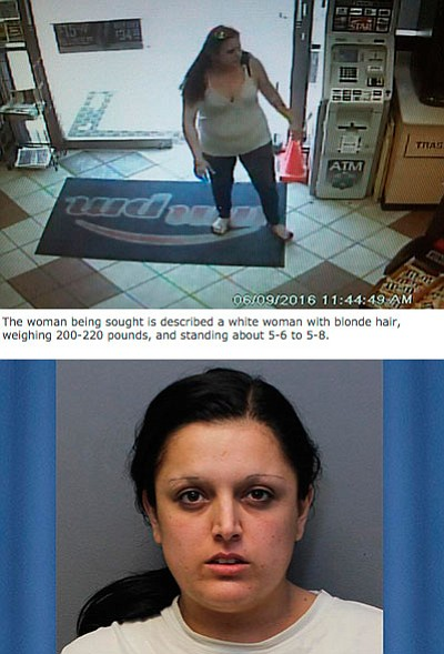 The missing suspect was reportedly with this woman, Meissa L. Lomeli, who is already in custody.