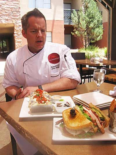 Hilton's Exec Chef Chris Knightly