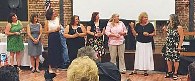 Class X graduates include Laurel Abdelnour, Debbie Breitkreutz, Wendy Edwards, Trish Gomez, Norela Harrington, Jennifer Hernandez, Carrie King, and Tricia Winters.  (Courtesy photos)<br /><br /><!-- 1upcrlf2 -->