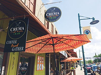 Crema Craft Kitchen at 917 N. Main St. in Old Town Cottonwood (Photo by Jennifer Kucich)
