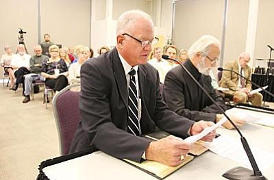 VVBAC member Bill Regner of Clarkdale. (VVN/Bill Helm)