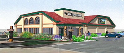An artist rendering of the new Black Bear Diner. (Courtesy Image)