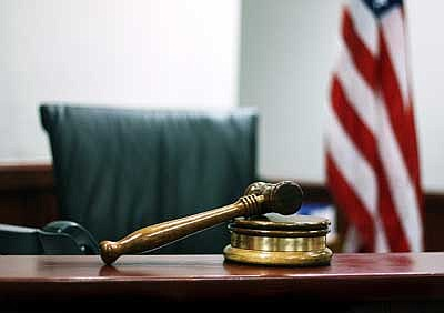 Ryan Williams/WGCN<br> A gavel sits ready for use in the Williams Justice Court.